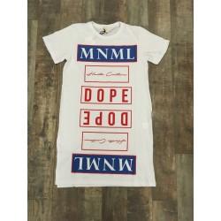 """abito lungo stampato D0908 """"MINIMAL COUTURE"""""""
