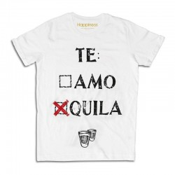 "T-shirt Te-quila M1394 ""HAPPINESS"""