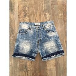 """bermuda jeans scambiato KEVIN L402B """"I'M BRIAN"""""""