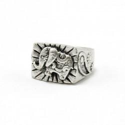 """anello in ottone Elefante C3050F """"PIETRO FERRANTE"""""""